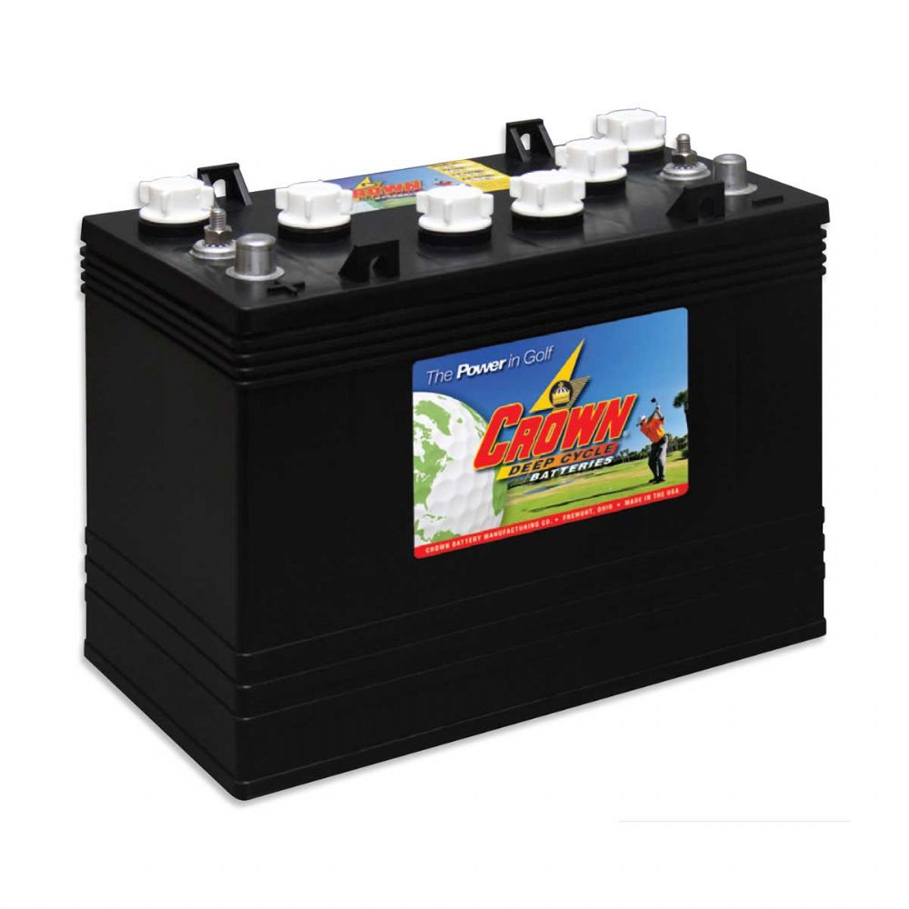 Crown Cr Gc155 12v 155ah Deep Cycle Battery Battery 163 207